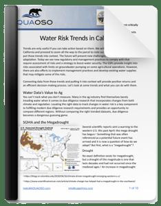 California Water Risk Trends eBook Thumbnail
