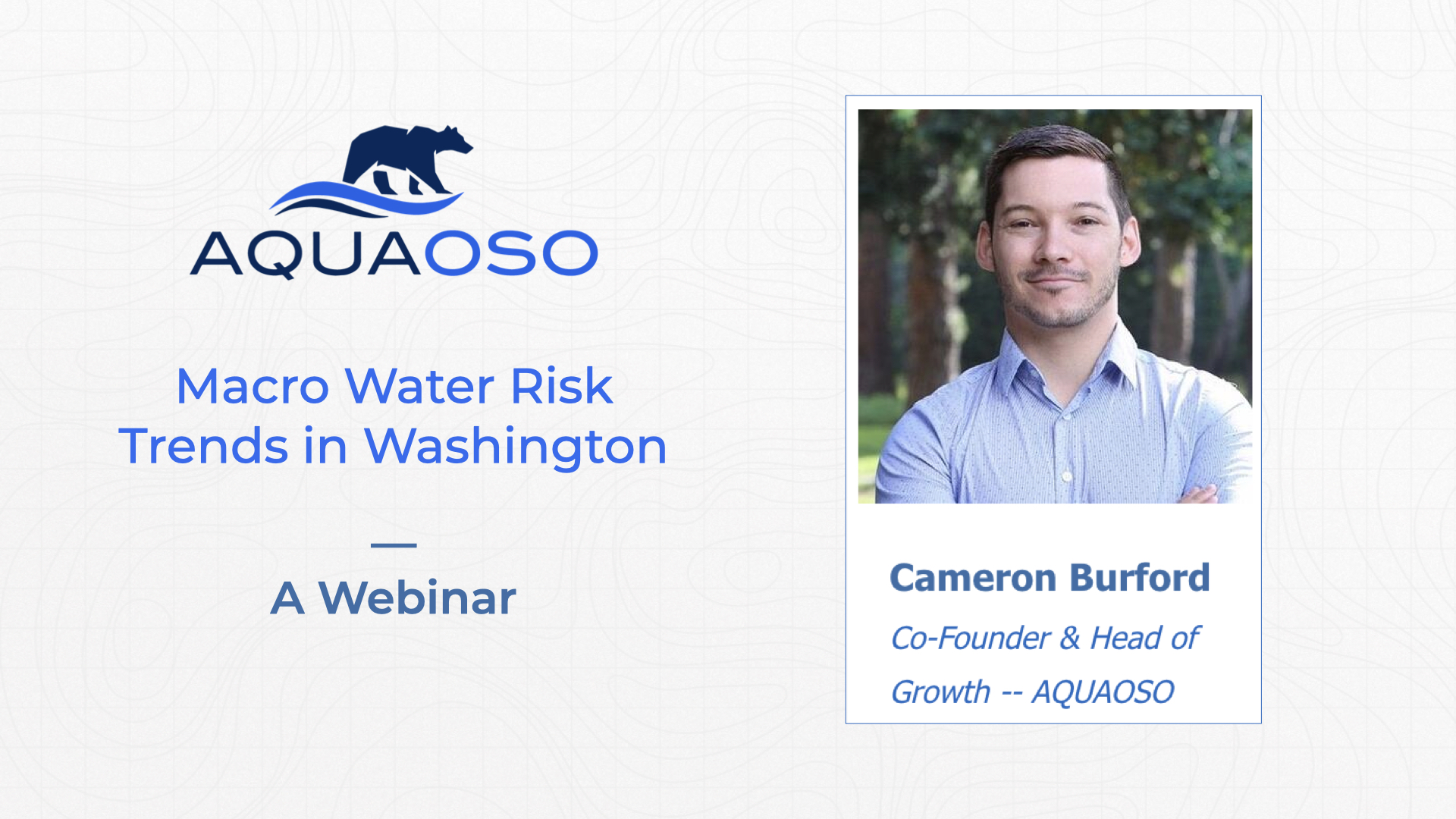 AQUAOSO Washington Water Risk Trends - Webinar.001